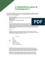 Metodos Estadisticos Para La Investigacion I