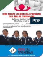 Cómo Aplicar Las Rutas Del Aprendizaje en Comunicación Por Joel Castañeda Dueñas