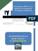 Aplicaciones web 2.0 en entornos de investigación colaborativa