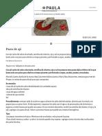 Pasta de Ají - Revista Paula