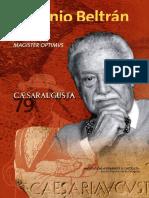 Antonio Beltrán (1916-2006) (Publicaciones de La Cátedra José Galiay)