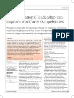 Transformational leadership can improve workforce, Thompson - (Leadership).pdf