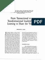 From Transactional to Transformational Leadership, Bass - (Leadership).pdf
