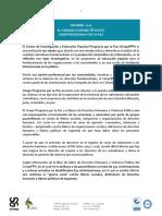 informe - situacion de derechos humanos