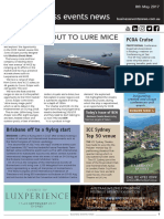 Business Events News for Mon 08 May 2017 - Scenic set to lure MICE, ICC Sydney Top 50 Venue, Fiji eyes conference expansion, Melbourne music conference and much more