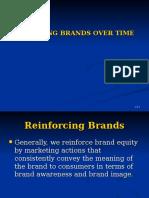 Managing Brands Over Time