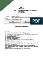 Final Jacking Method