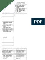 Checklist Perkhemahan