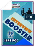 Interview Booster English