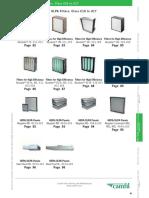 Epa-hepa-ulpa Filters, Class e10 to u17