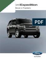 manual de propietario Ford Expedition