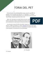 Historia PET