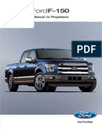 manual de propietario Ford F-150