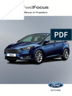 manual de propietario Ford Focus Sedan Manual