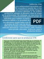 Clasificación ETAS
