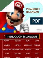 Slide Penjodoh Bilangan