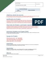 Termo de Abertura Do Projeto - Project Charter