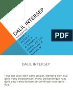 Dalil intersep