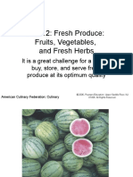 Fresh Product-Fruits, Vegetables, And Fresh Herbs