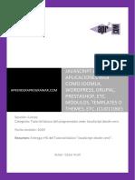 CU01106E Javascript CMS Joomla WordPress Drupal Modulos Templates