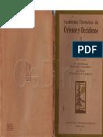 Cuadernos de Oriente y Occidente N° 1 (ver nota de Mariategui).pdf