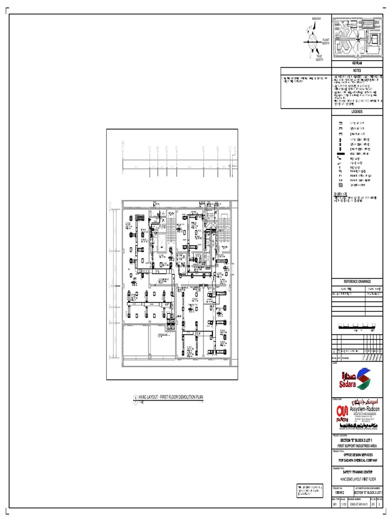 1501012 Dwg St Mh 0413 0 Hvac Layout First Floor Demolition Drawing Company