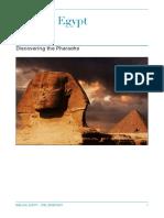 the pharaohs of genesis and exodus