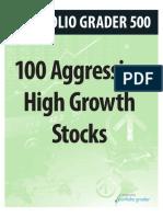 Aggressive Stocks
