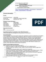 UT Dallas Syllabus for opre6369.0g1.10f taught by Eugene Deluke (gxd052000)