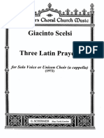 Scelsi-Three Latin Prayers
