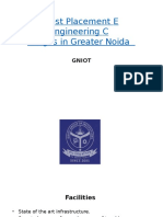 Best Placement Engineering Colleges in Greater Noida     -   GNIOT