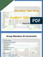 feedback group 2 - april 2017