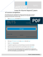 CareerHub Access Instructions