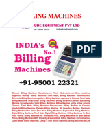 Handheld Billing Machine for Best Price Offer in Jude Equipment Pvt Ltd.