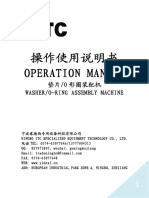 Hose Washer Automatic Assembly Machine