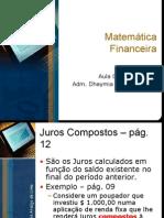 Aula 05 de 10 - Matemática Financeira (09-03-10)