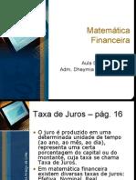 Aula 06 de 10 - Matemática Financeira (10-03-10)