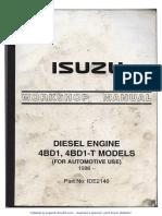 4BD1 Workshop Manual 1