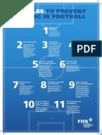 11 Reglas Para Prevenir El Doping