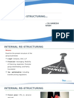 Structuring Aspects in Merger & Acquisition