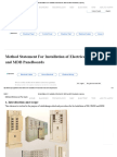 Method Statement for Installation of Electrical DB, SMDB and MDB Panelboards _ Lopol