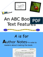 ABC Book of Text Features