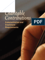 IRS Donation Substantiation Requirements