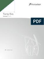Bruno Turny-evo Installation-manual Screen En