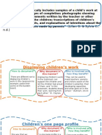 methods of documentation of early childhood