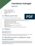 arts award jobs info