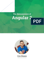 The Awesomeness of Angular2