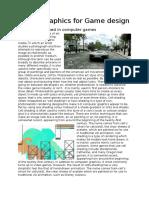 digital graphics for game design
