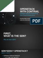 Juniper Contrail Open Stack Study