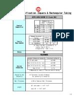 A500 Spec Sheet